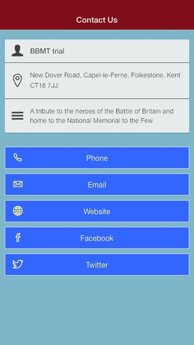 Battle of Britain Memorial Screenshot