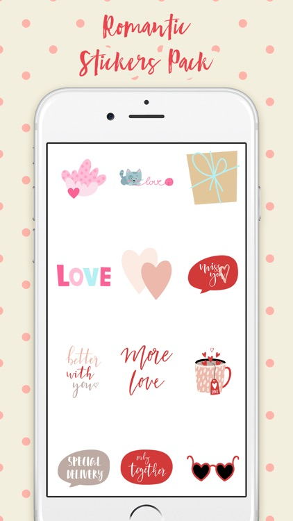 Just Romantic Stickers Pack