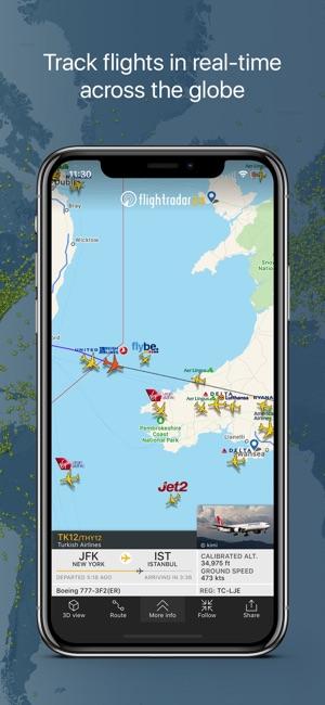 Flightradar24 flight tracker on the app store iphone ipad apple watch gumiabroncs Choice Image