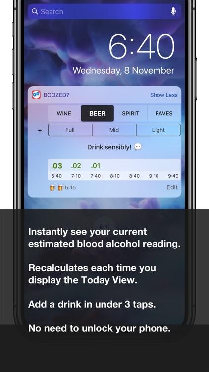 Boozed? Drink Tracker.