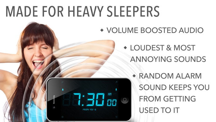 Loud Alarm Clock – the LOUDEST Screenshot