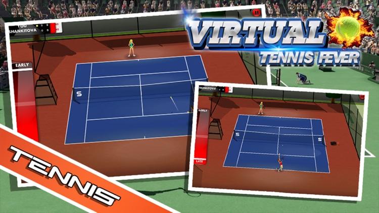 Virtual Tennis Fever - Real Tennis Simulation screenshot-3