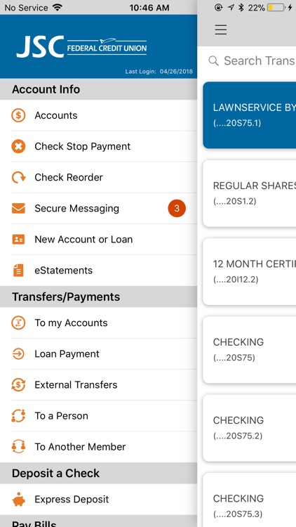 JSC FCU Mobile screenshot-1