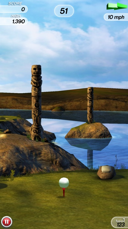 Flick Golf! screenshot-1
