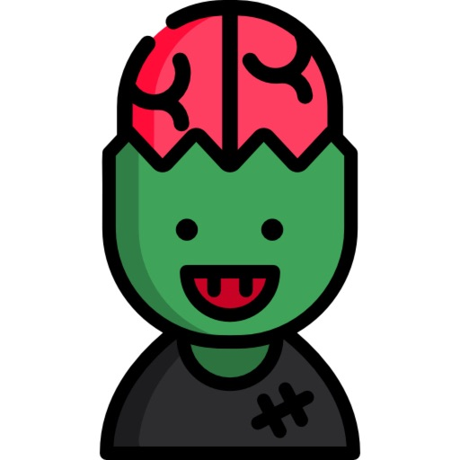 Zombie Stickers - HQ Mojis