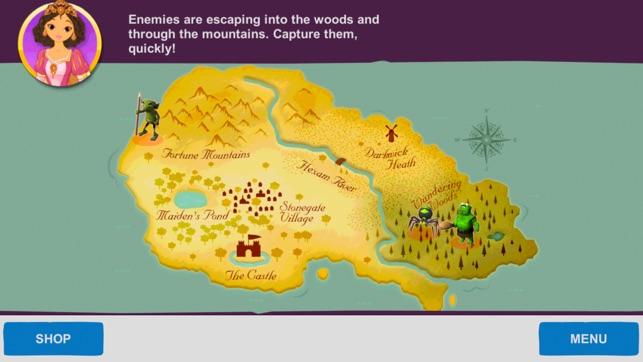 Medieval Math Battle Gold Screenshot