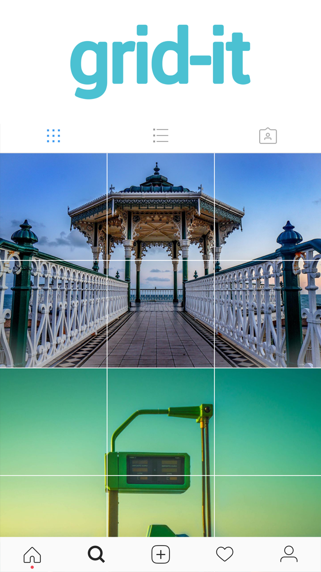 grid-it - instagram tiling Screenshot