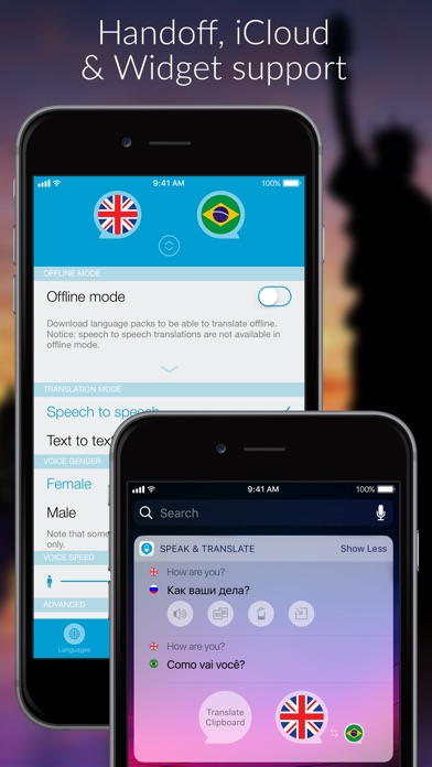 Speak 2 Translate -Live Voice and Text Translator with Speech Screenshot 4