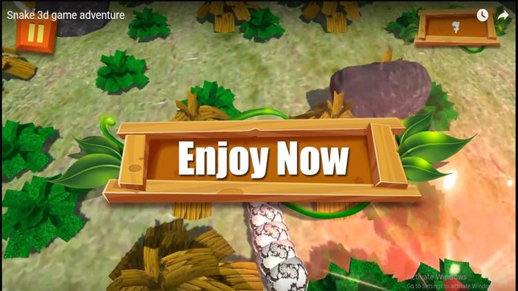 Snake 3D Adventure screenshot-3