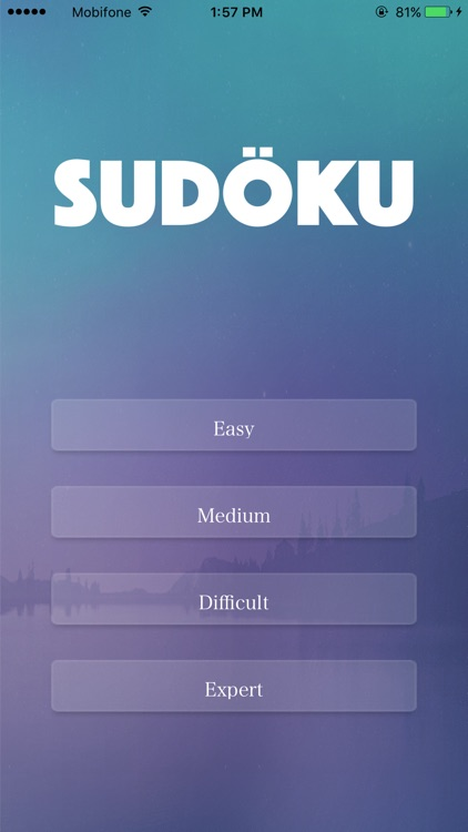 Sudoku - game brain training