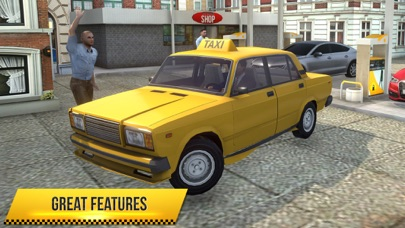 Taxi Simulator 2018 screenshot 5