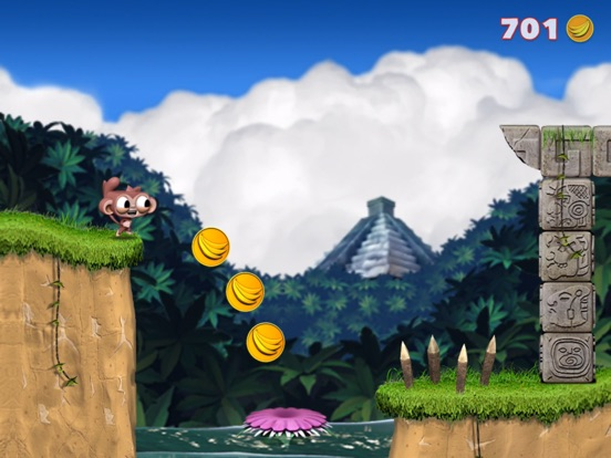 Dare the Monkey: Go Bananas! screenshot 5