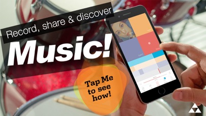 Trackd - Music Social Studio screenshot one