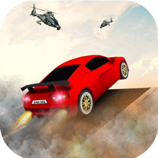 Vertical Ramp Stunts: Car Driv icon