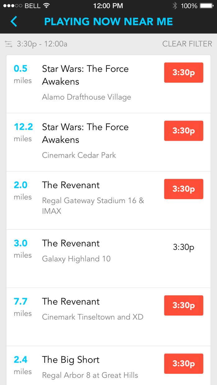 Moviefone Screenshot