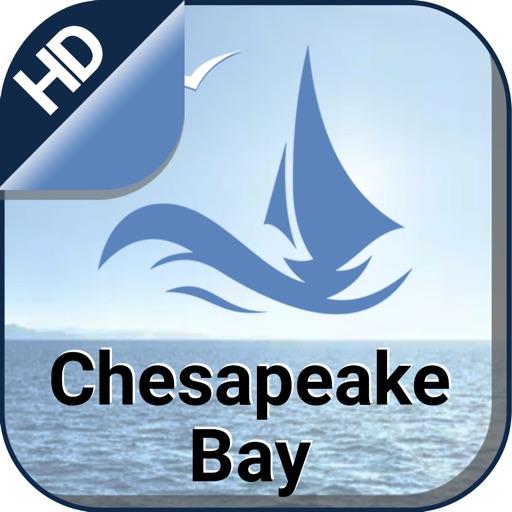 Chesapeake Bay nautical sailing and fishing charts