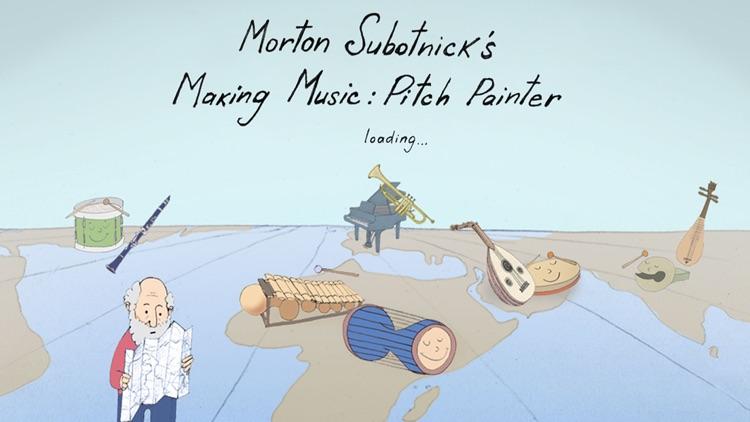 Mort Subotnick's Pitch Painter