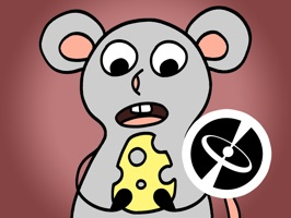 Gray mouse - Cute stickers