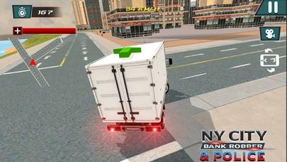 NY City Bank Robber & Police-1