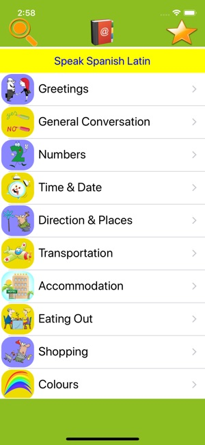 Speak spanish latin american on the app store screenshots m4hsunfo