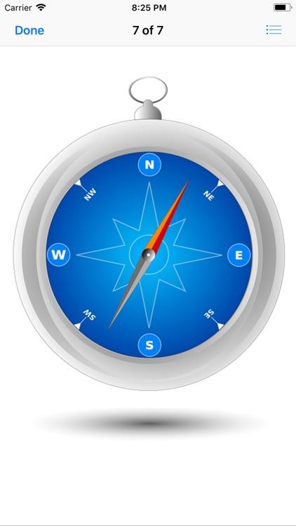 Compass Stickers screenshot-9