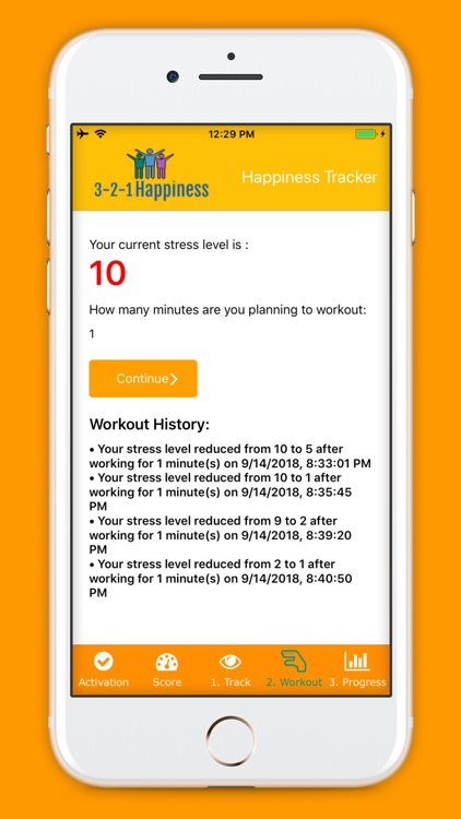 3-2-1 Happiness Tracker
