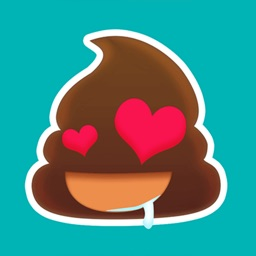 Poo Emoji Sticker for iMessage