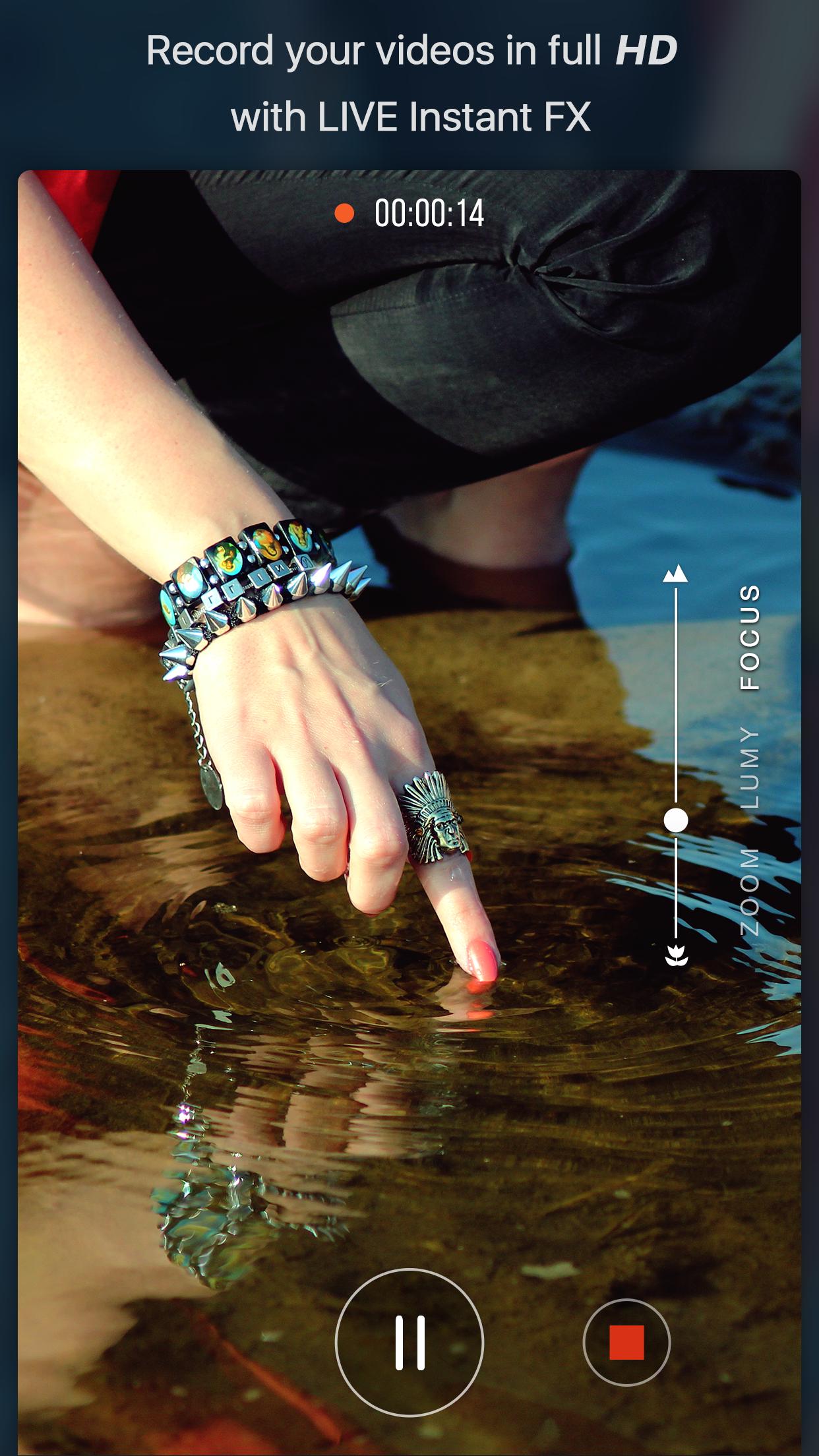 Vizmato - Video Editor with FX Screenshot