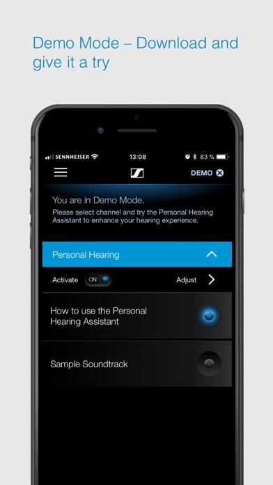 Sennheiser MobileConnect screenshot three