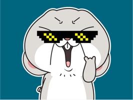 Rabbit Boss Animated Stickers