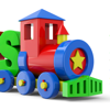 3D Baby Blocks Train games IXL