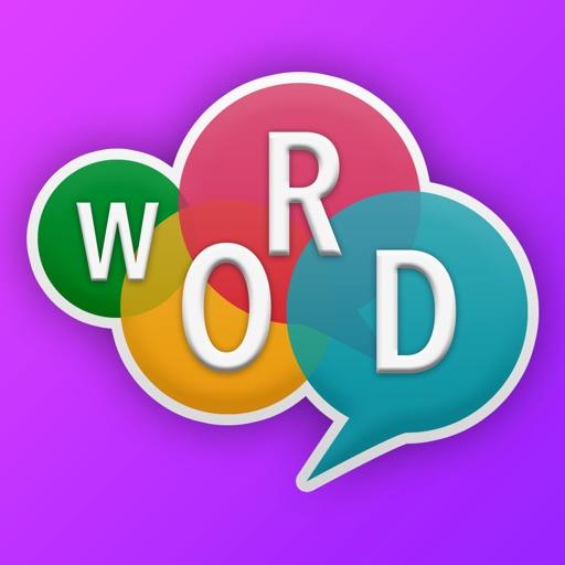 Word Crossy - A crossword game application logo