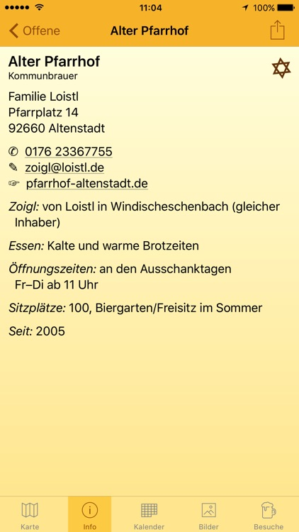 Zoigl-Kalender screenshot-2