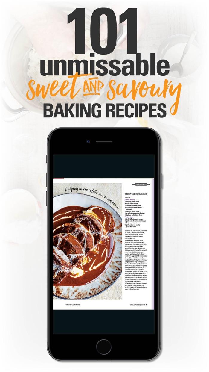 Baking Heaven Magazine – 101 Delicious Recipes Screenshot