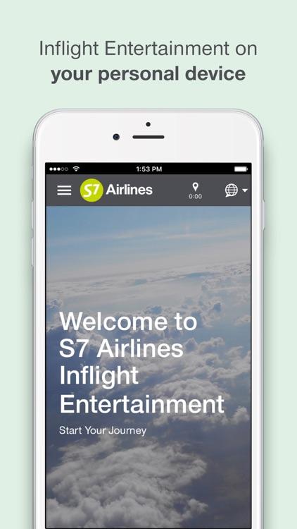 S7 Inflight Entertainment
