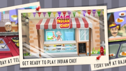 Screenshot for Indian Chef - Cooking game in United States App Store