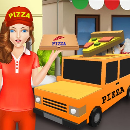 Pizza Delivery Car Sim