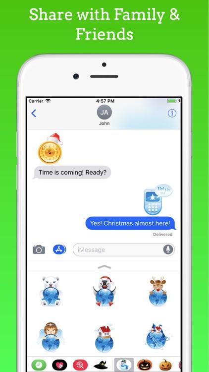 Christmas Stickers & Emojis screenshot-3