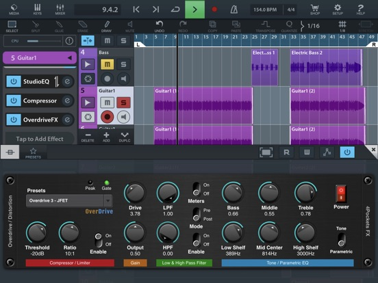 Overdrive AUv3 Plugin screenshot 8