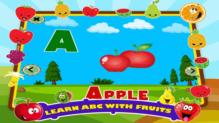 Learn ABC Alphabet Fruit Games by Learning Apps