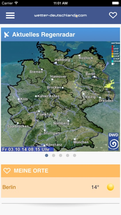 Wetter DE screenshot-3