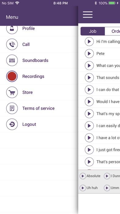 Screenshot of Medicated Pete Prank Pack App