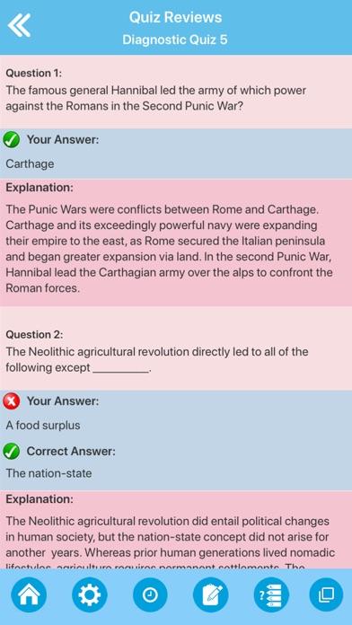 screenshot 8 for high school world history quiz