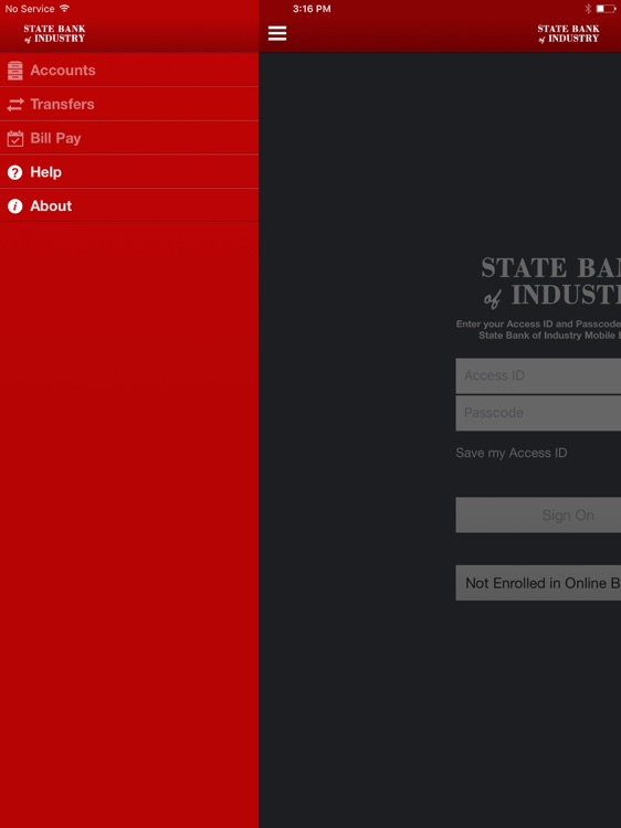 State Bank of Industry for iPad
