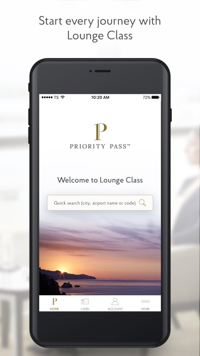 Priority Pass review screenshots