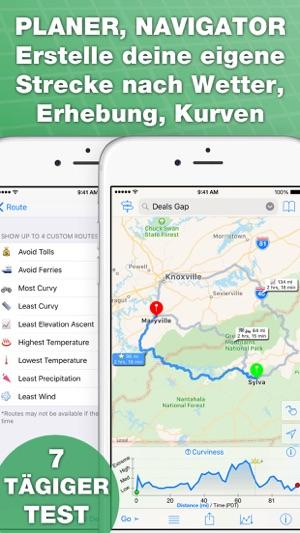 inRoute Routenplaner im App Store