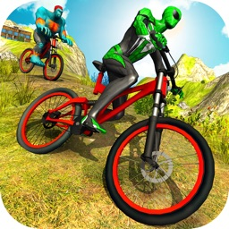 Offroad Superhero Bicycle Race