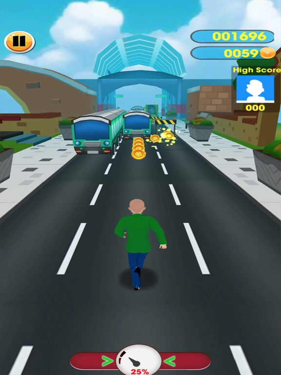#1 Subway baltis Education Run screenshot 7
