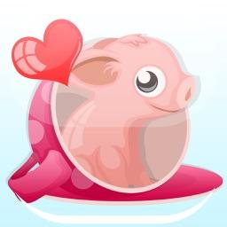 Mini-PigMoji: Teacup Pig Emoji