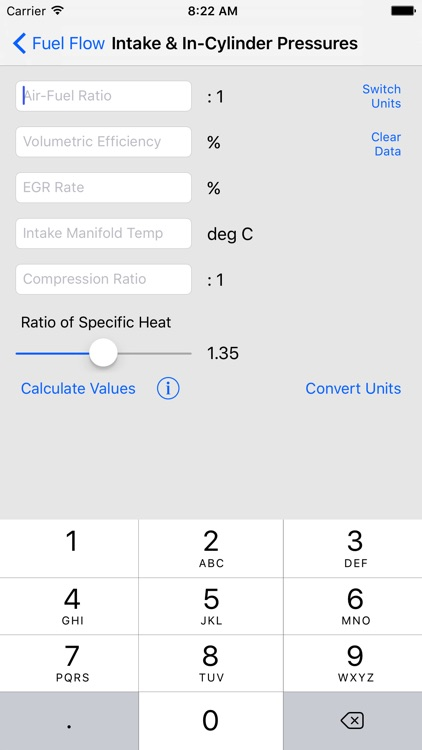 Engine Performance Calculator screenshot-3